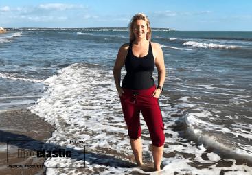 Livia 38 años. Una abdominoplastia le dará un aspecto delgado y confianza.